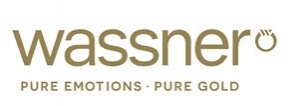 Wassner Logo - pure emotions, pure gold