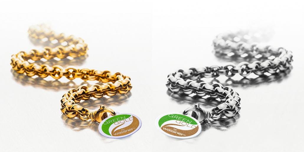 Colliers en or durable et equitable
