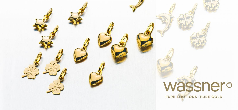 Pendentifs Green Gold by Wassner